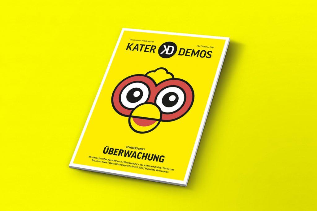 """Cover der fünften Ausgabe von Kater Demos zum Thema """"Das Fremde"""""""